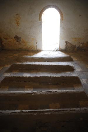 Inside the tomb of Sidi Setta ou Settine