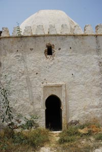 Entry to the Kaoubba fo Sidi Setta ou Settine