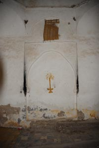 Wall decorations of the Koubba Sidi Setta oy Settine
