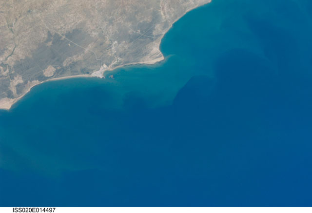 Astronaout photograph of Essaouira and Cap Sim