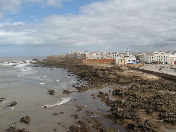 The remparts of Essaouira