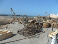 Filming in Essaouira