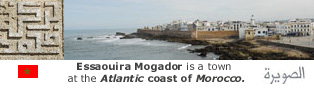 Essaouira Mogador is a town at the Atlantic coast of Morocco