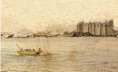 Castelo Real On a painting by Adriaen Matham 1641