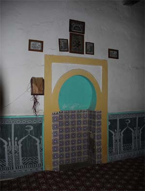Mosque Interior Dar Caid Meltana