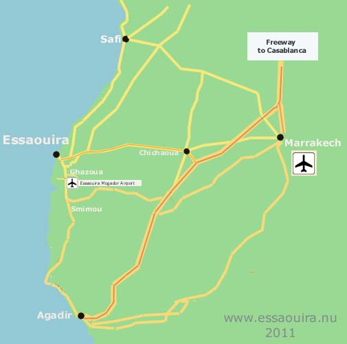 Essaouira Roadmap