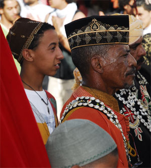 Gnawa Old and young