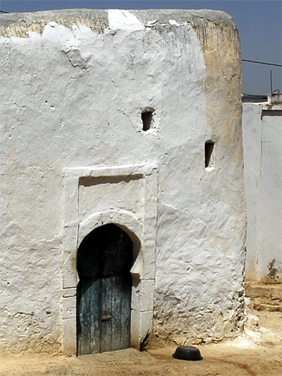 Door of house in Hanchane