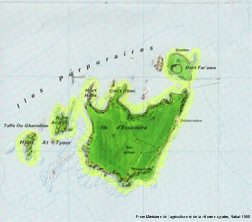 Map of the Islands of Mogador
