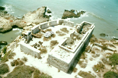 A fort on the Island of Mogador