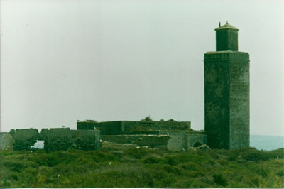 The mosque on the island of Mogador