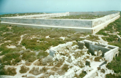 The prison of the island of Mogador