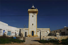 The lighthouse Sidi Magdoul