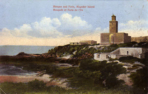 Mogador Island Mosque and Forts