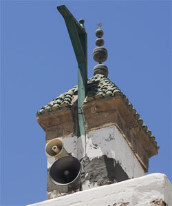 Minaret with 4 copperballs