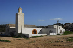 The mosque in Diabet
