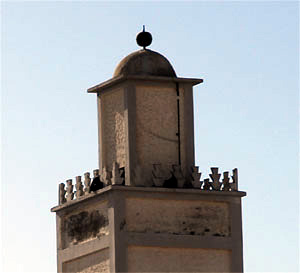 Minaret Scala with one ball