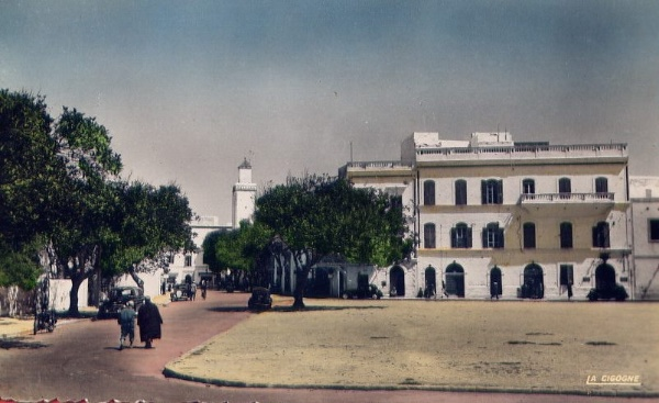 La place Moulay Hassan