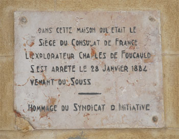 Hommage du  Syndicat d´initiative:The French Consulate
