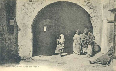 The entry to the Mellah