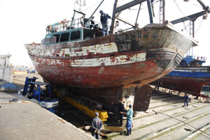 Essaouira port Shipyard