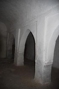 Interior mosque Sidi Jacoub