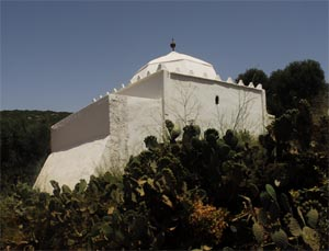 The tomb of Sidi Ouasmin